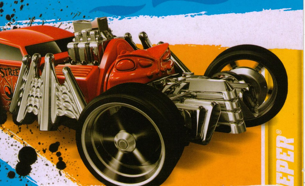 Hot Wheels Street Creeper card art