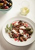 Marinated Eggplant with Pomegranate