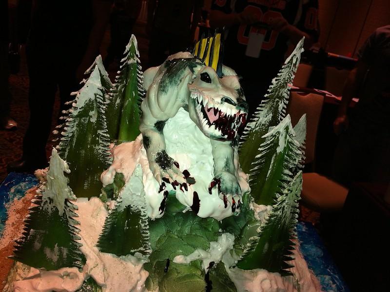 Baby McButter cake at SiglerFest2K12.