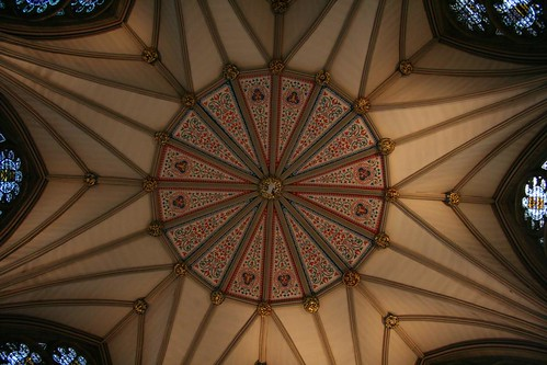 York Minster - Looking Up