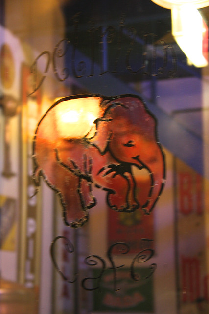 Delirium Cafe Window