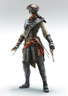 Assassin's Creed III: Liberation for PS Vita - Assassin persona