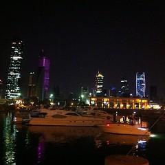 Skyline from Sharq Marina