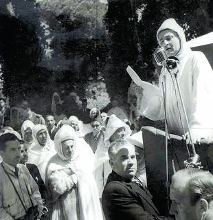 Le discours de Mohammed V à Tanger