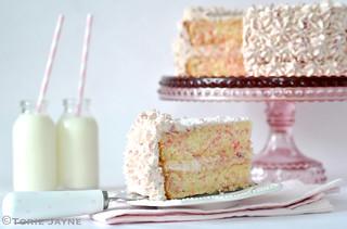 Gluten free sprinkles cake