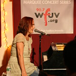 Iris DeMent brings songs from 'Sing the Delta' to NYC for a concert of WFUV Members. Hosted by John Platt. Photo by Laura Fedele