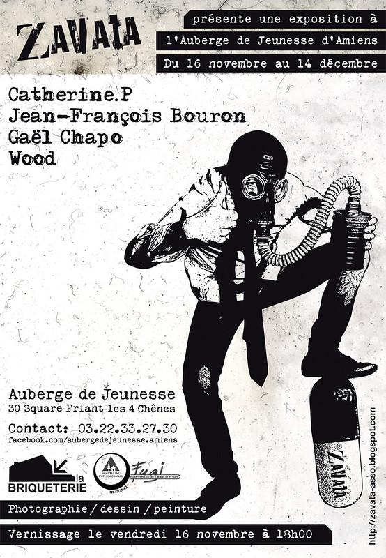 Exposition Zavata - FUAJ Amiens 2012