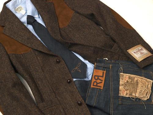RRL / Harris Tweed Sport Coat
