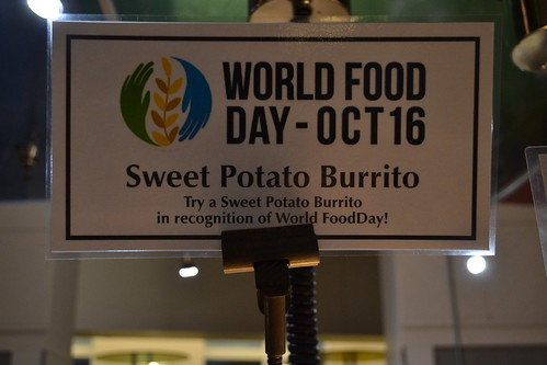 UVA - World Food Day Sign