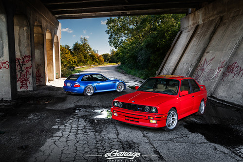 BMW E30 M3 & BMW Z3M Coupe / eGarage by jeremycliff