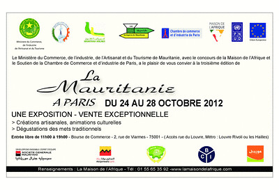 Invitation la Mauritanie à Paris