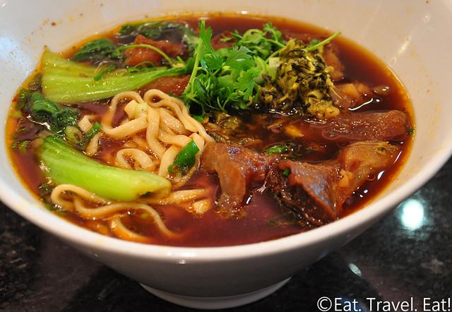 Fortune Dumpling- Monterey Park, CA: Braised Beef Noodle Soup