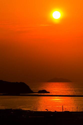 sunset 日本 島根県 浜田市 02景色