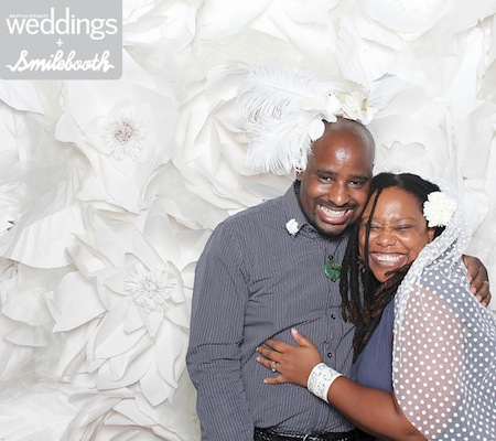 Jeanine Hays and Bryan Mason of AphroChic at Martha Stewart Weddings Bridal Party