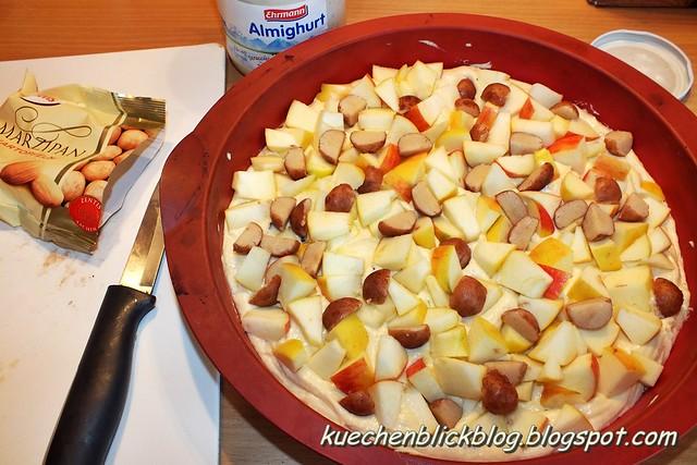 Apfel Marzipan Streusel Kuchen