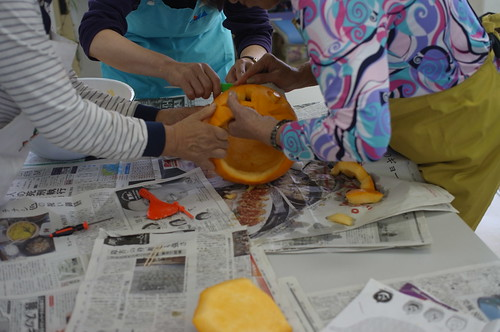 """Kumin-Hiroba Shiinamachi"" Pumpkin Carving Workshop"