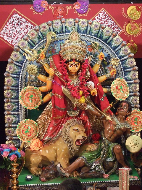 durga puja, durga, cambridge