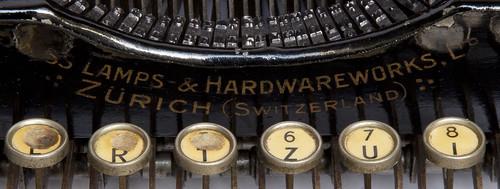 Express Schreibmaschine