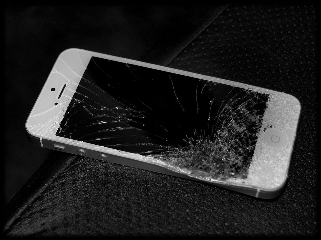 Demolished iPhone5