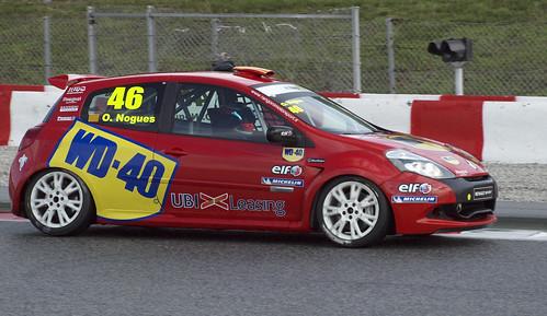 Oscar Nogués en Eurocup Clio