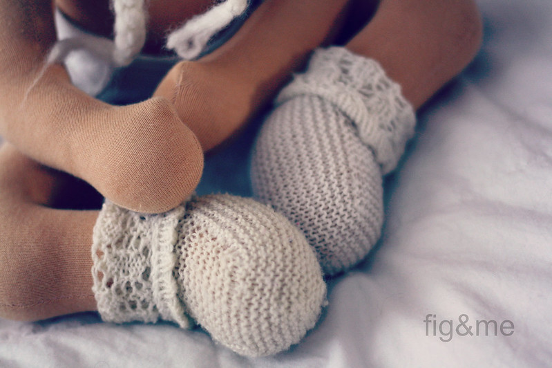 Knit socks for Jill