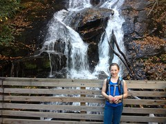 Iz at Ammons Creek Falls