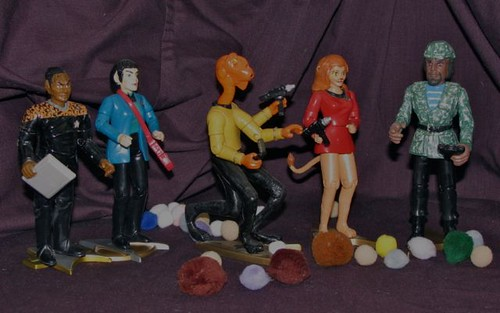 Star Trek customized action figures