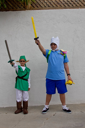 Link and Finn together