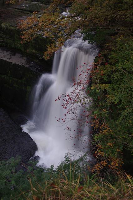 Sgwd Clun-Gwyn Falls
