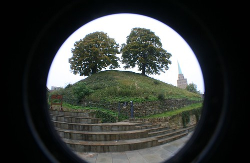 Motte at Oxford Castle