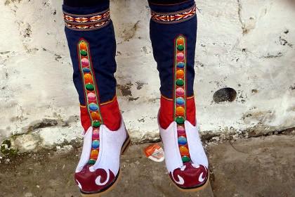 Teschus dance boots