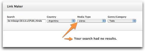 iTunes Link Maker Argentina