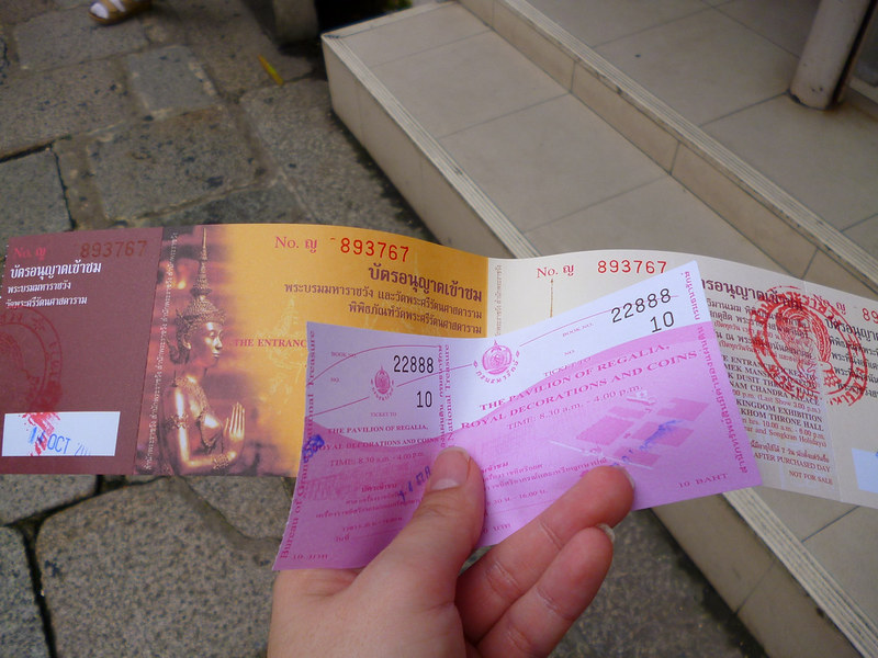 Grand Palace tickets