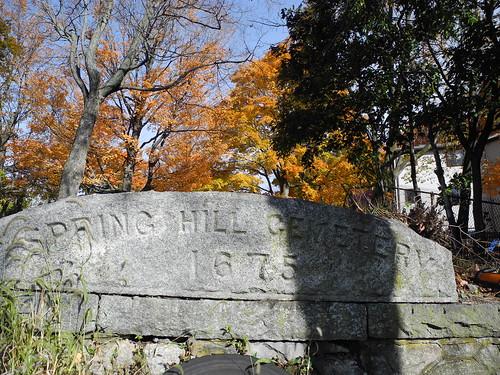 Spring Hill Cemetery 1675 by midgefrazel