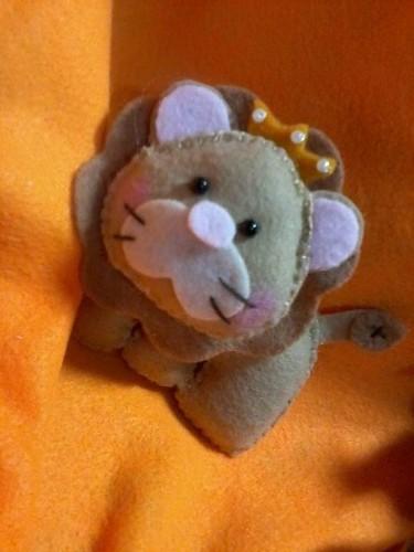 leão!! Reizinho!! by ♥Paninhos em forma de amor♥