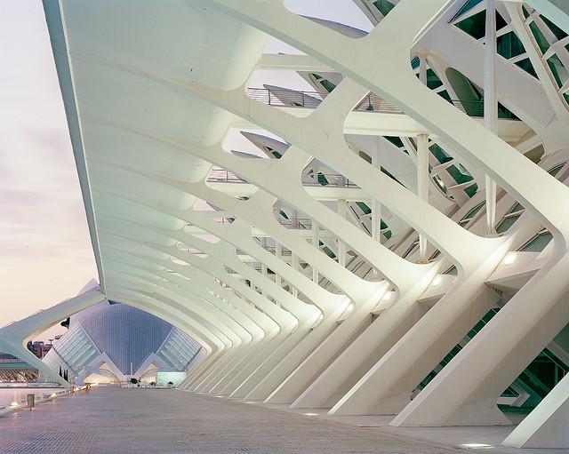 Ciudad de las Artes y las Ciencias // Santiago Calatrava