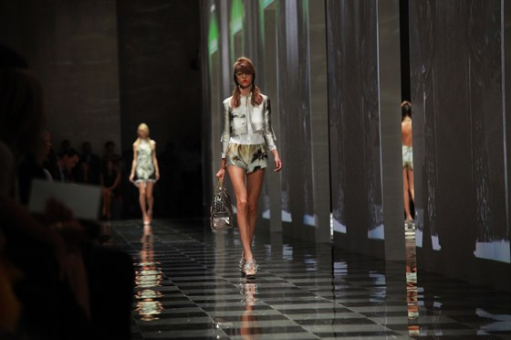 Prada SS 2010 Women's Collection Catwalk, designed by AMO