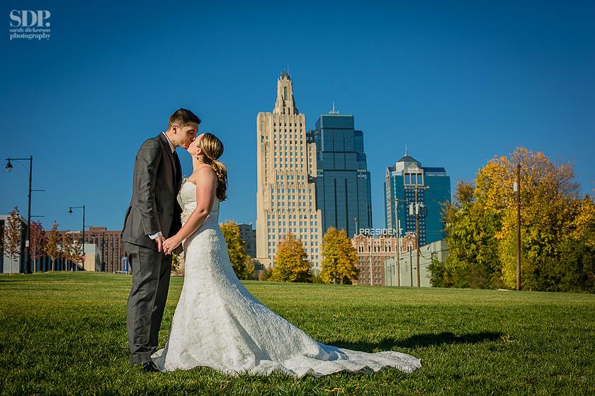 Kansas City Crossroads wedding photos