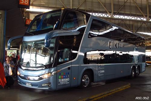 Ciktur | Terminal San Borja | Marcopolo Paradiso 1800 DD / FFFZ49