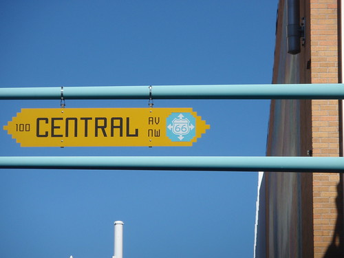 central streetsign