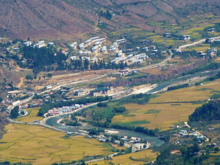 paro valley below