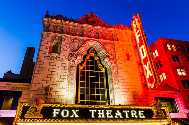 Fox Theater by CC user philleara on Flickr