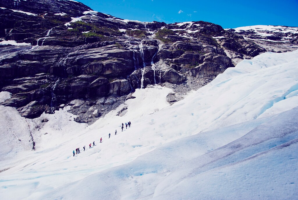 Norway Glacier Hike
