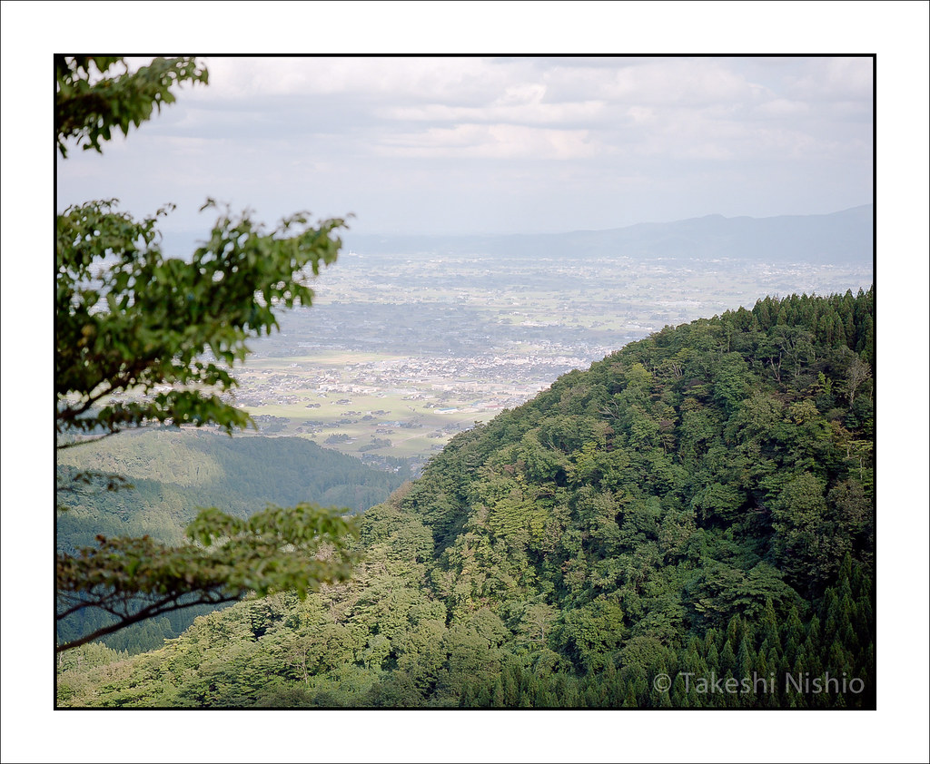 散村, 砺波平野 / Dispersed settlement, Tonami plains