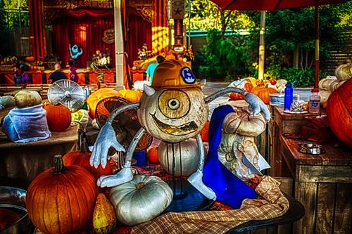 Pumpkin Mike Wachowski by hbmike2000