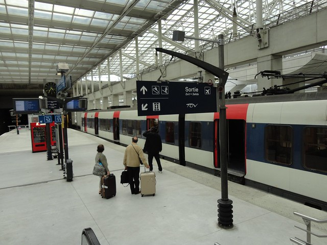 Paris - Train from airport