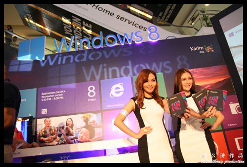 Microsoft Windows 8 is finally here! Grab yours now! @ Experience Windows 8 nationwide Roadshow
