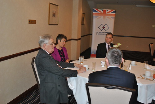 Business Breakfast with Susan Haird, the Deputy Chief Executive of UKTI