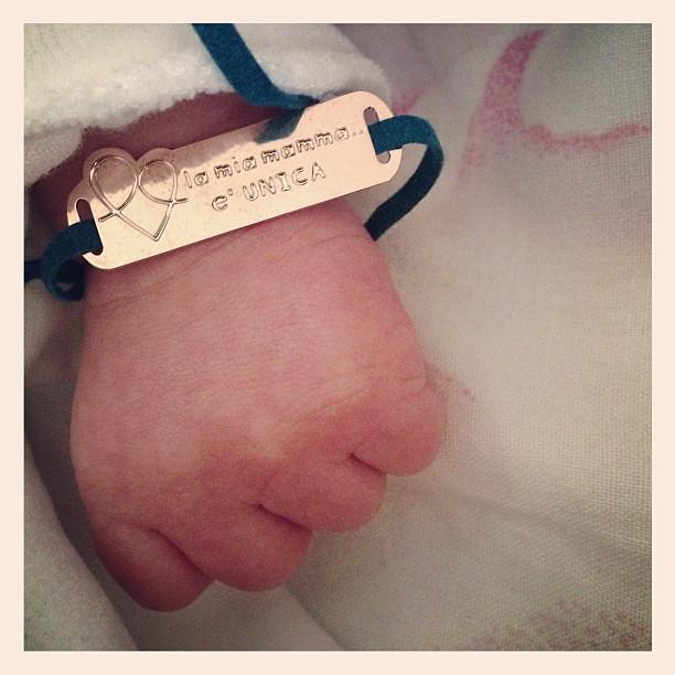 La mia #mamma e' unica #lamianonabox @nonabox_it  #bebe #neonato #instalove #maternita' #baby #love #instagram #instalife