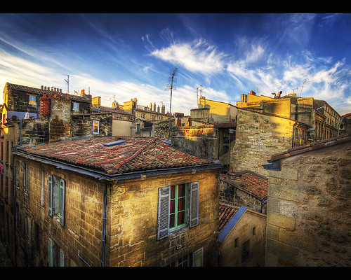 france bordeaux hdr